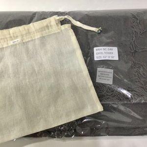 """Chan Luu Accessories - 🆕Chan Luu """"Eiffel Tower"""" Cashmere/Silk Scarf"""